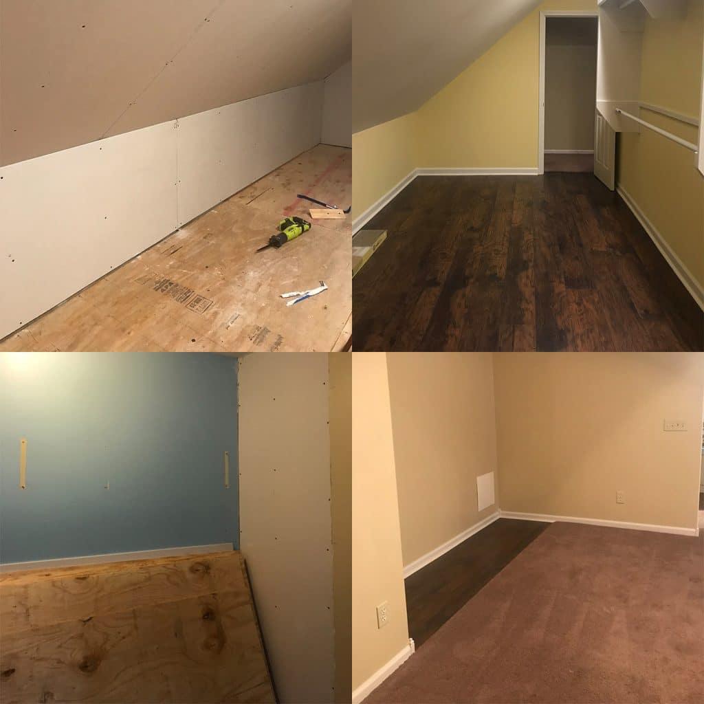 addition attic