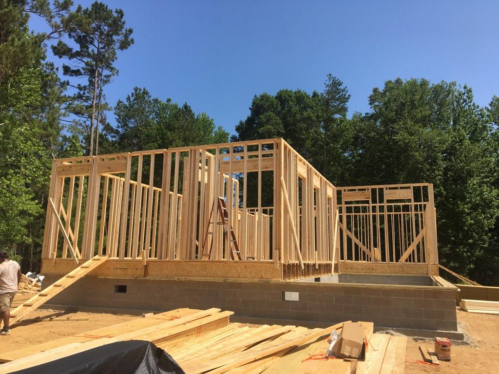 new building frame